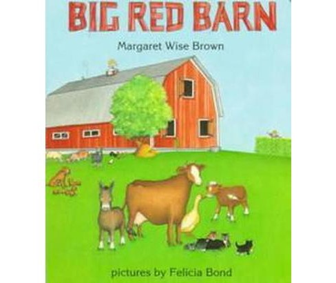 Big Red Barn (Board) by Margaret Wise Brown - image 1 of 1