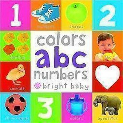 Colors, ABC, Numbers ( Bright Baby)by Books Priddy (Board Book)