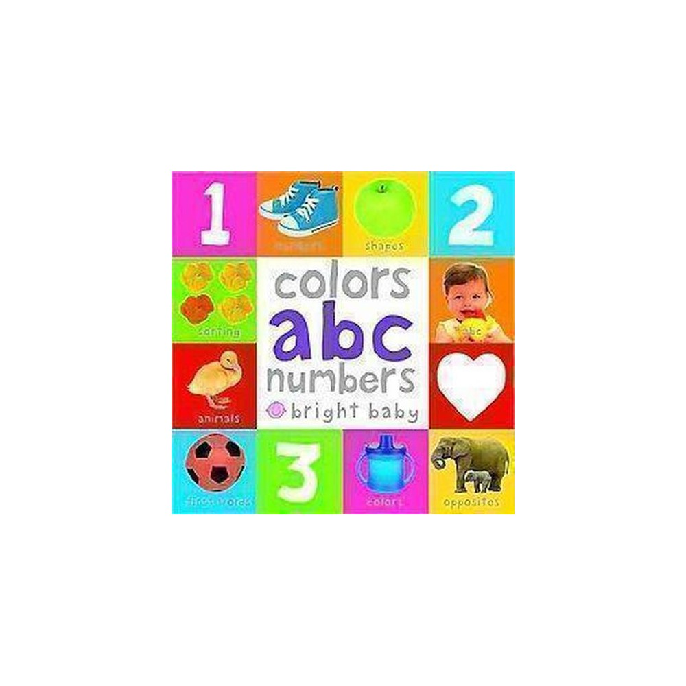 Colors, Abc, Numbers ( Bright Baby) (Board) by Books Priddy