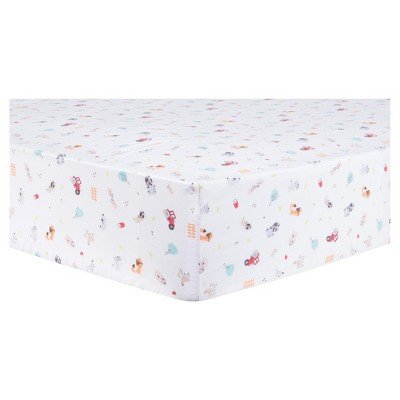 Trend Lab® Fitted Crib Sheet - Farm Stack