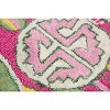 3'X3' Tufted Cactus Round Accent Rug Pink - Rizzy Home - image 3 of 4