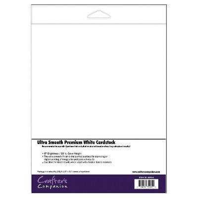 Spectrum Noir Ultra Smooth Premium Cardstock - White