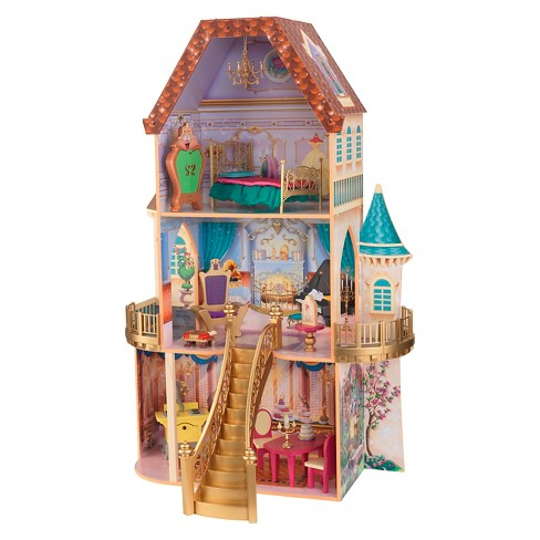 KidKraft® Disney Beauty and the Beast Enchanted Dollhouse - image 1 of 6