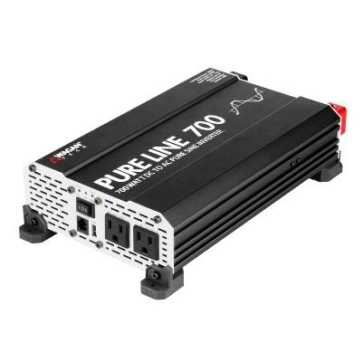 Wagan Pure Line 700W ETL Certified Power Inverter Black