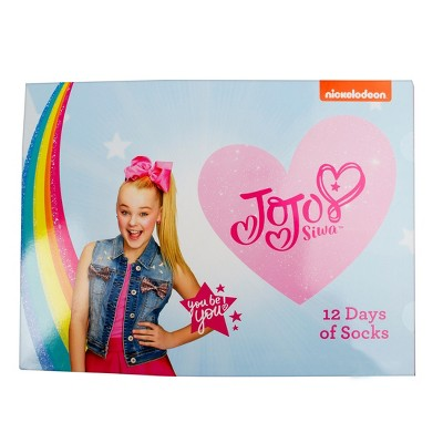 4f79b1252 Girls  JoJo Siwa 12 Days Of Socks Advent Box – S – BrickSeek