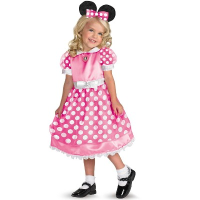 Mickey Mouse Clubhouse Disney Clubhouse Minnie Mouse Toddler Costume (Pink)