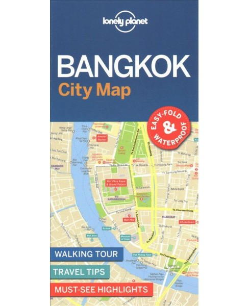 Lonely Planet Bangkok City Map (Paperback) - image 1 of 1