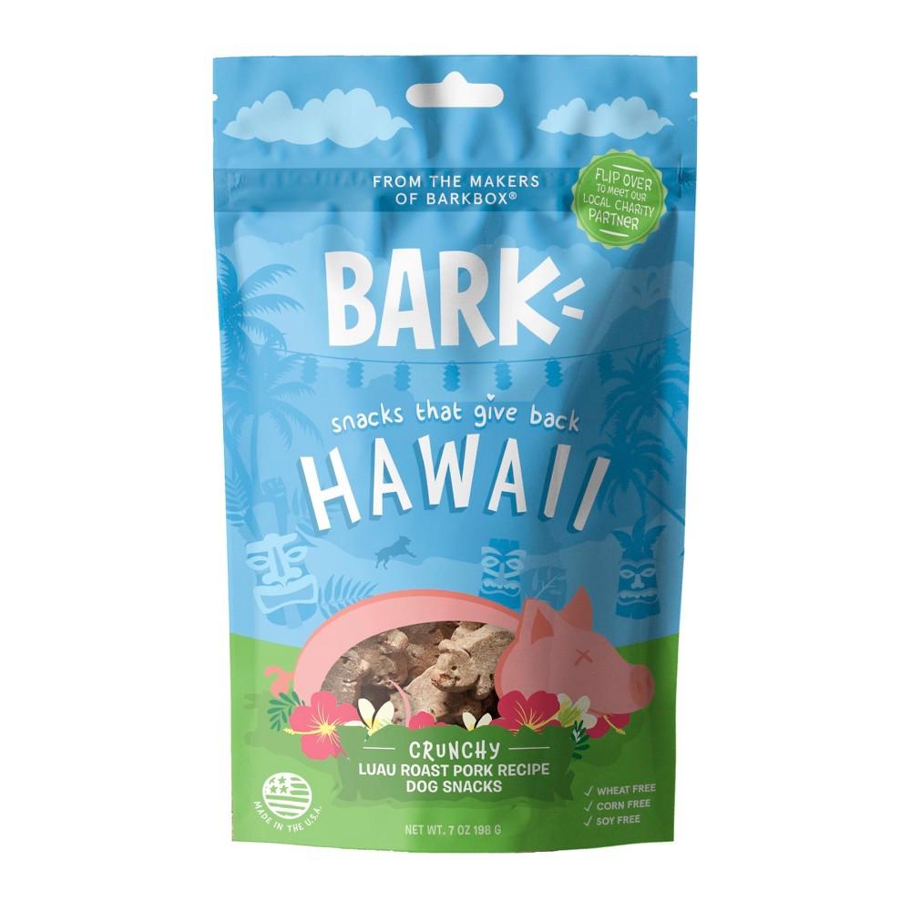 Bark Hawaii Luau Roast Pork - Pork Dog Treat - 7oz