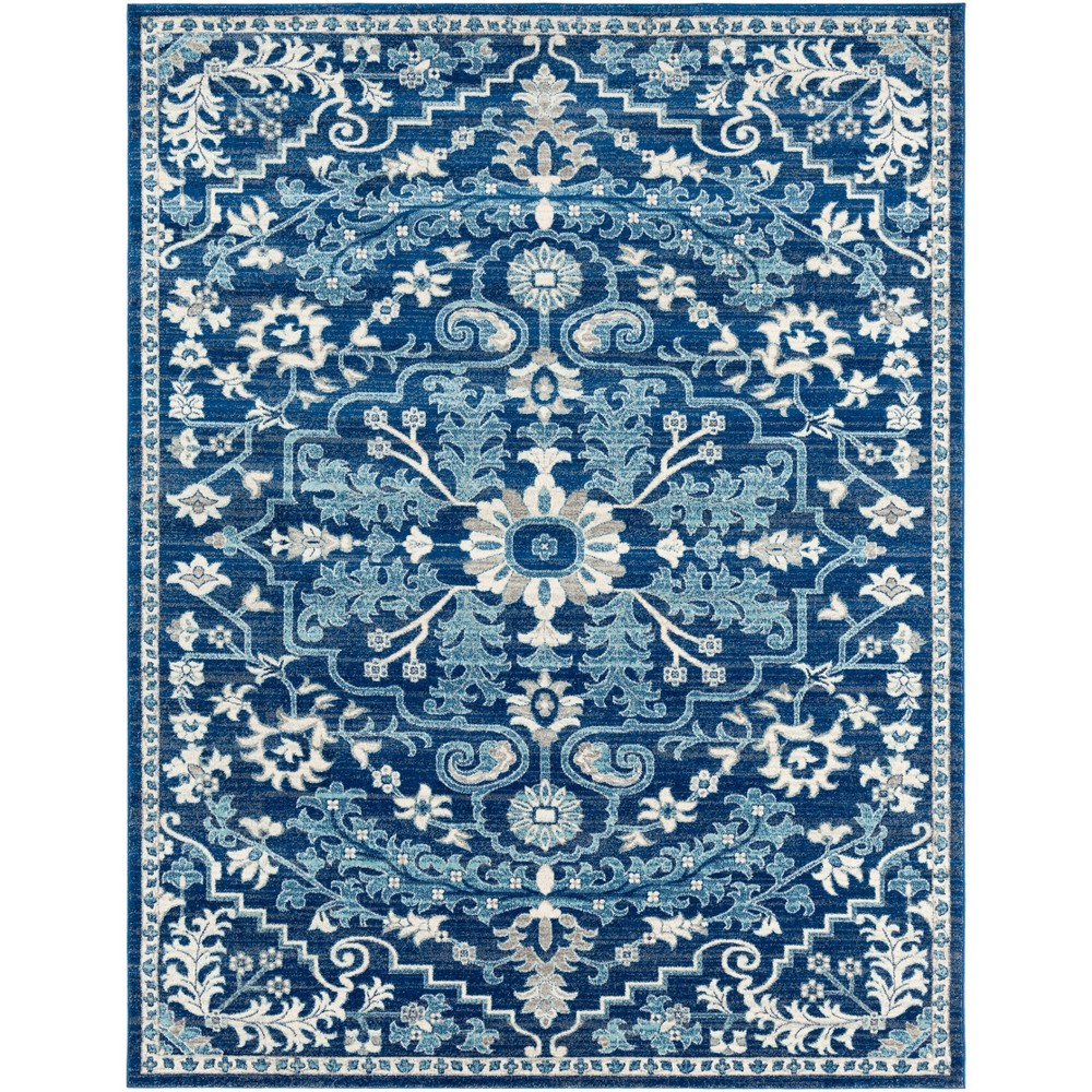 7 39 10 34 X10 39 3 34 Abby Traditional Rugs Teal Dark Blue Artistic Weavers