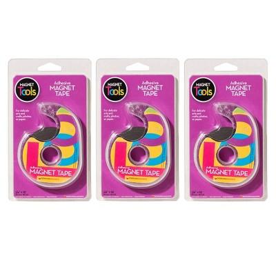 "3pk .75""x25' Magnet Tape in Dispenser - Dowling Magnets"