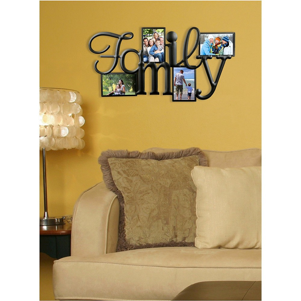 Image of Burnes 4-Opening Collage Family Frame