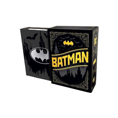DC Comics: Batman: Quotes from Gotham City (Tiny Book) - by  Insight Editions (Hardcover)