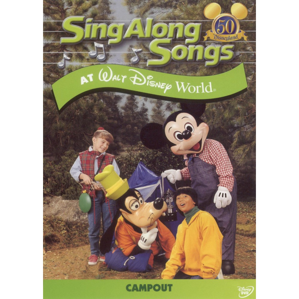 Sing Along Songs at Walt Disney World: Campout