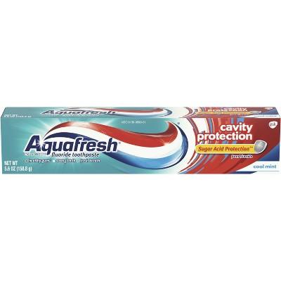Aquafresh Triple Protection Fluoride Toothpaste Tube - 5.6oz
