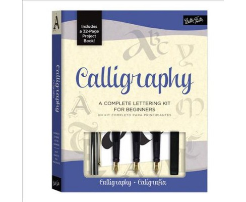 Calligraphy / Caligrafia (Bilingual) (Paperback) - image 1 of 1