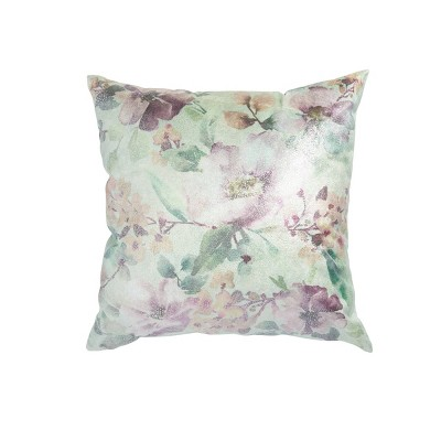 """20""""x20"""" Oversize 'Minty Mint' Square Throw Pillow Purple - Sure Fit"""