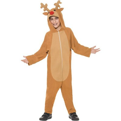 Smiffy Red Nosed Reindeer Child Costume