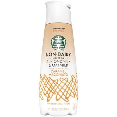 Starbucks Almond Milk and Oat Milk Caramel Macchiato Coffee Creamer - 28 fl oz