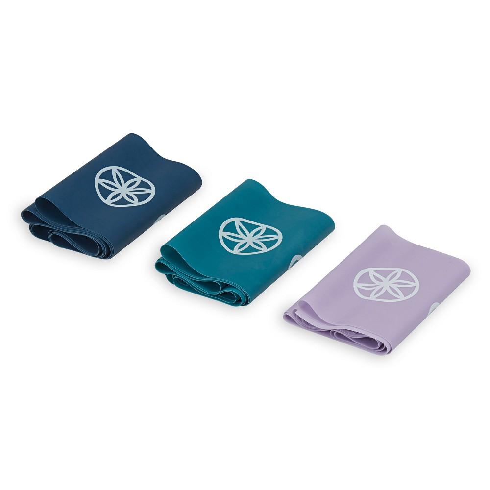 Gaiam Blooms Flat Band Kit -Blue, Blue