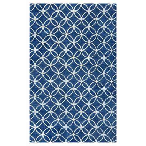 Rizzy Home Opus Collection 100% Wool Hand-Tufted Rug - image 1 of 4