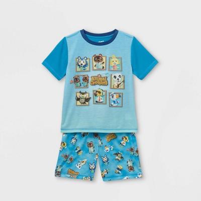 Boys' Animal Crossing 2pc Pajama Set - Blue