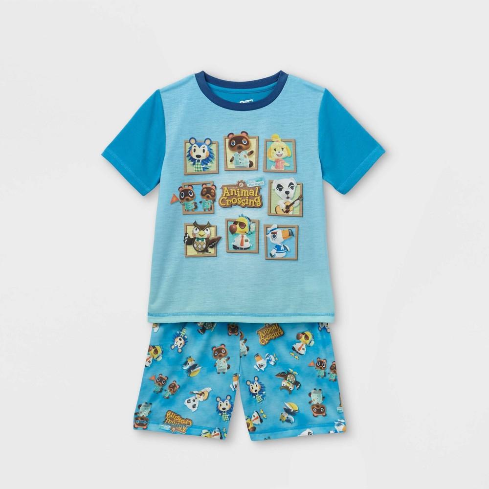 Boys 39 Animal Crossing 2pc Pajama Set Bluel