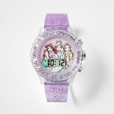Girls' Disney Princess Watch - Light Purple