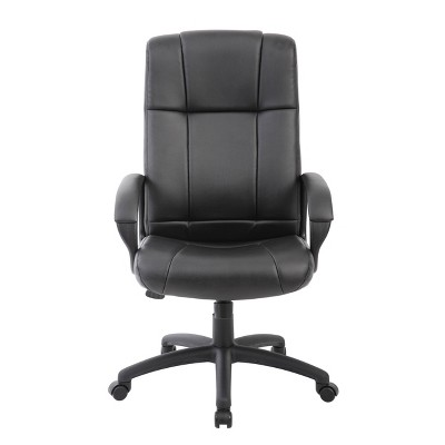 Caressoft Executive High Back Chair Black - Boss Office Products : Target