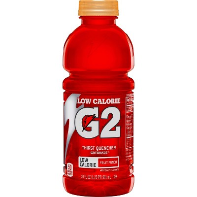 Gatorade G2 Fruit Punch Sports Drink - 20 fl oz Bottle