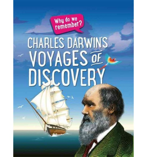 Charles Darwin Voyages of Discovery (Hardcover) (Izzi Howell) - image 1 of 1
