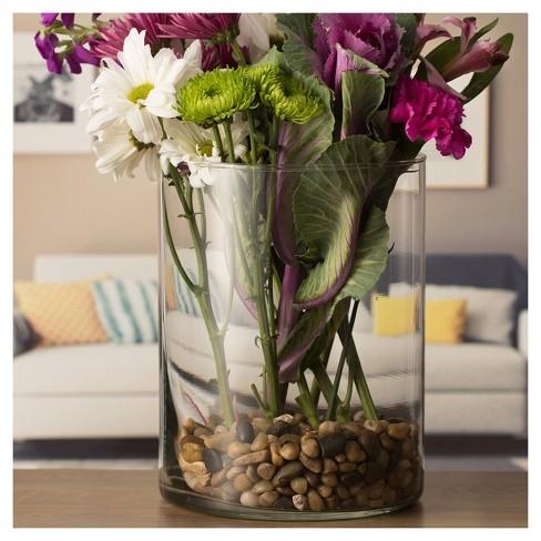 Wide Cylinder Vase (8