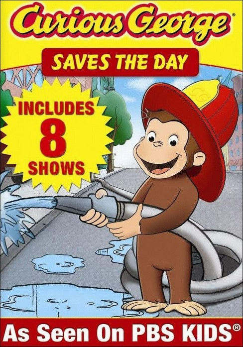 Curious George: Saves the Day (dvd_video) - image 1 of 1