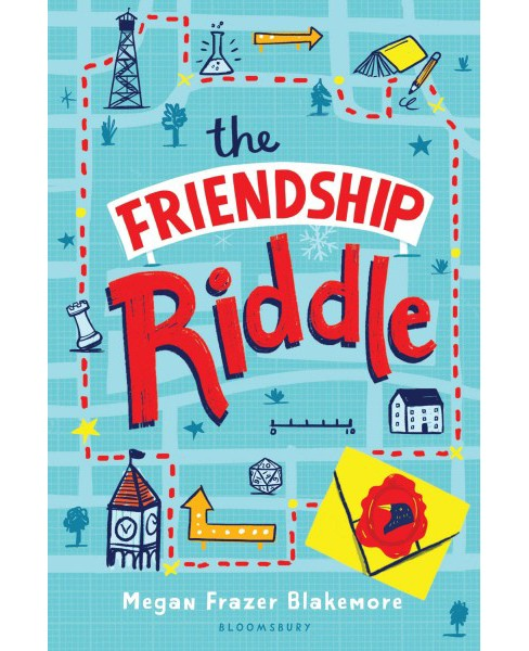 Friendship Riddle -  Reprint by Megan Frazer Blakemore (Paperback) - image 1 of 1