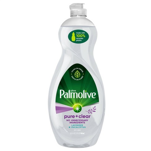 Palmolive Ultra Pure + Clear Liquid Dish Soap - Lavender and Eucalyptus - 32.5 fl oz - image 1 of 4