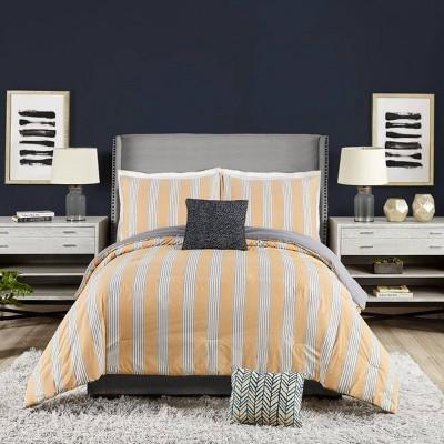 Willow Stripe 5pc Comforter Set - Ayesha Curry