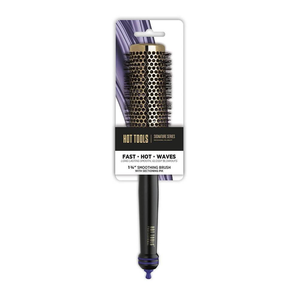 """Image of """"Hot Tools Medium Course Bristle Round Brush - 1 3/4"""""""", Black"""""""