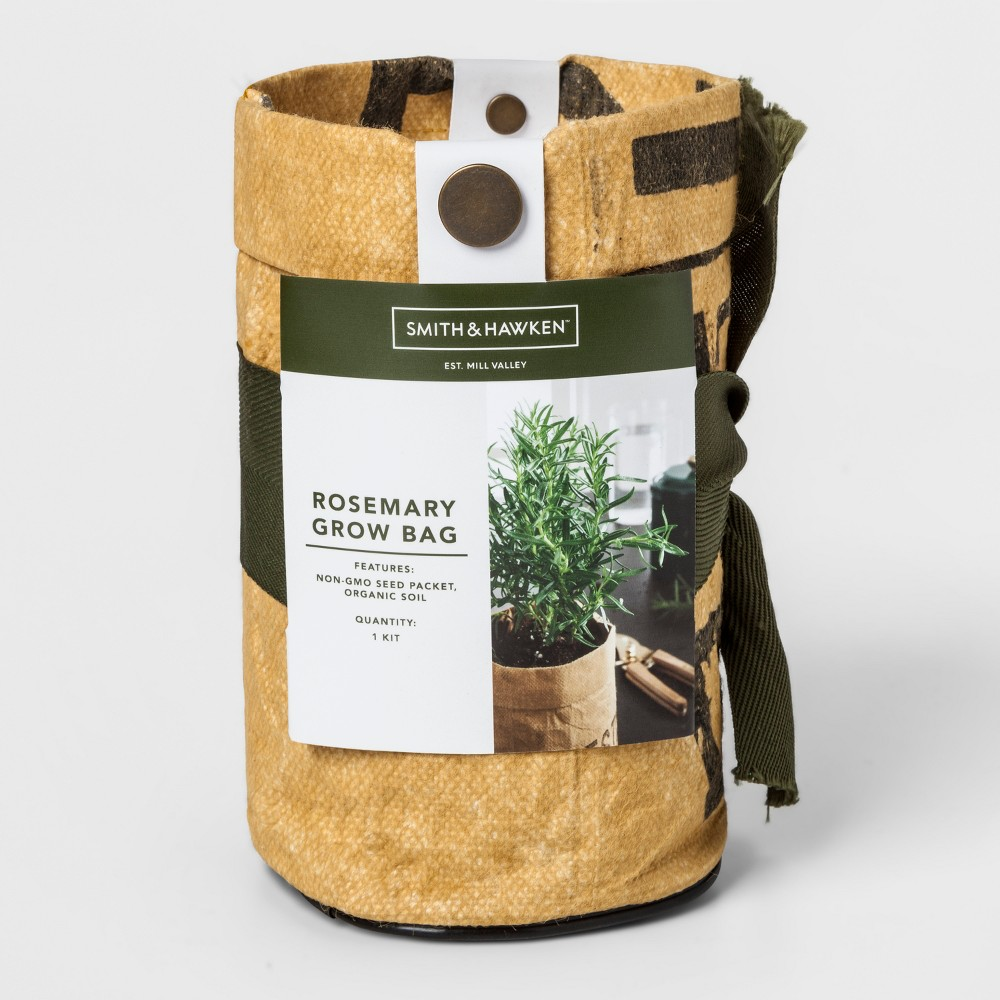 "Image of ""6.5"""" x 4"""" Rosemary Grow Kit - Smith & Hawken , Beige"""