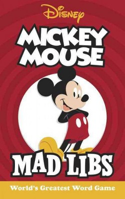 Mickey Mouse Mad Libs - by  Mickie Matheis (Paperback)