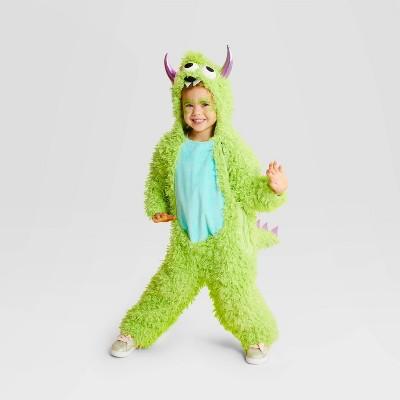 Toddler Plush Monster Halloween Costume Jumpsuit - Hyde & EEK! Boutique™