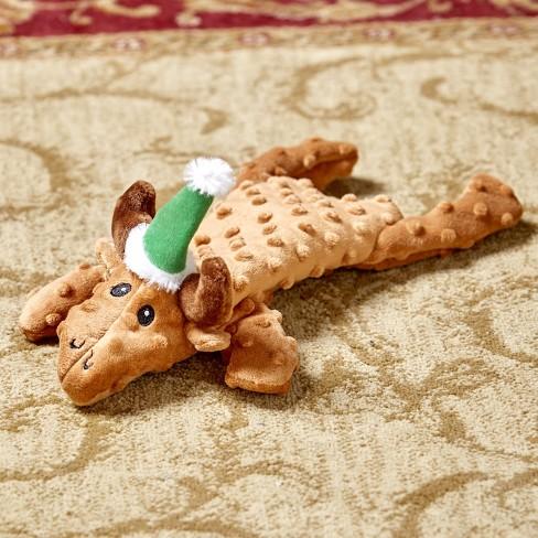 Lakeside Skinneeez Extreme Unstuffed Dog Toy - Christmas Reindeer - image 1 of 1
