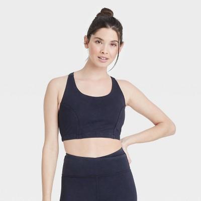Women's Longline Bra with Twisted Strappy Back - JoyLab™