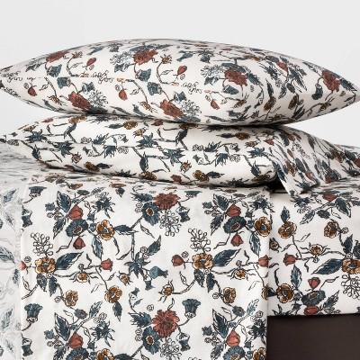 Printed Flannel Sheet Set Threshold Target