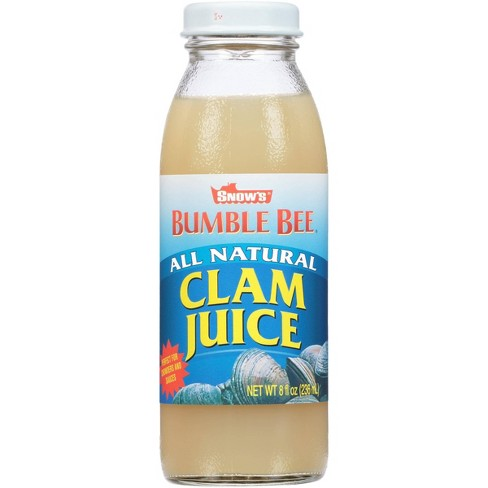 Snow's All Natural Clam Juice 8 oz - image 1 of 4