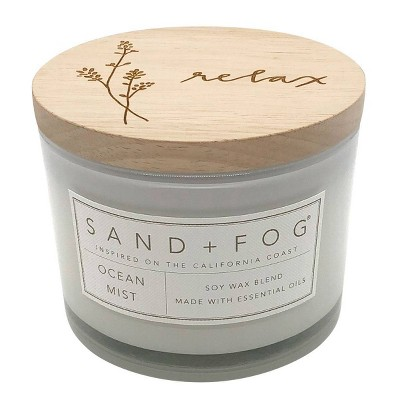 12oz Ocean Mist Scented Candle - Sand + Fog