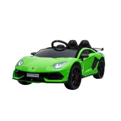 Best Ride on Cars 12V Lamborghini SVJ Powered Ride-On - Green