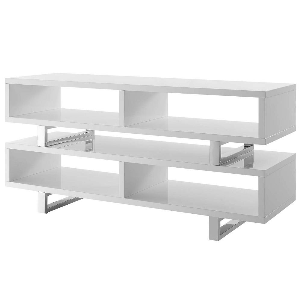 Amble 47 TV Stand White - Modway