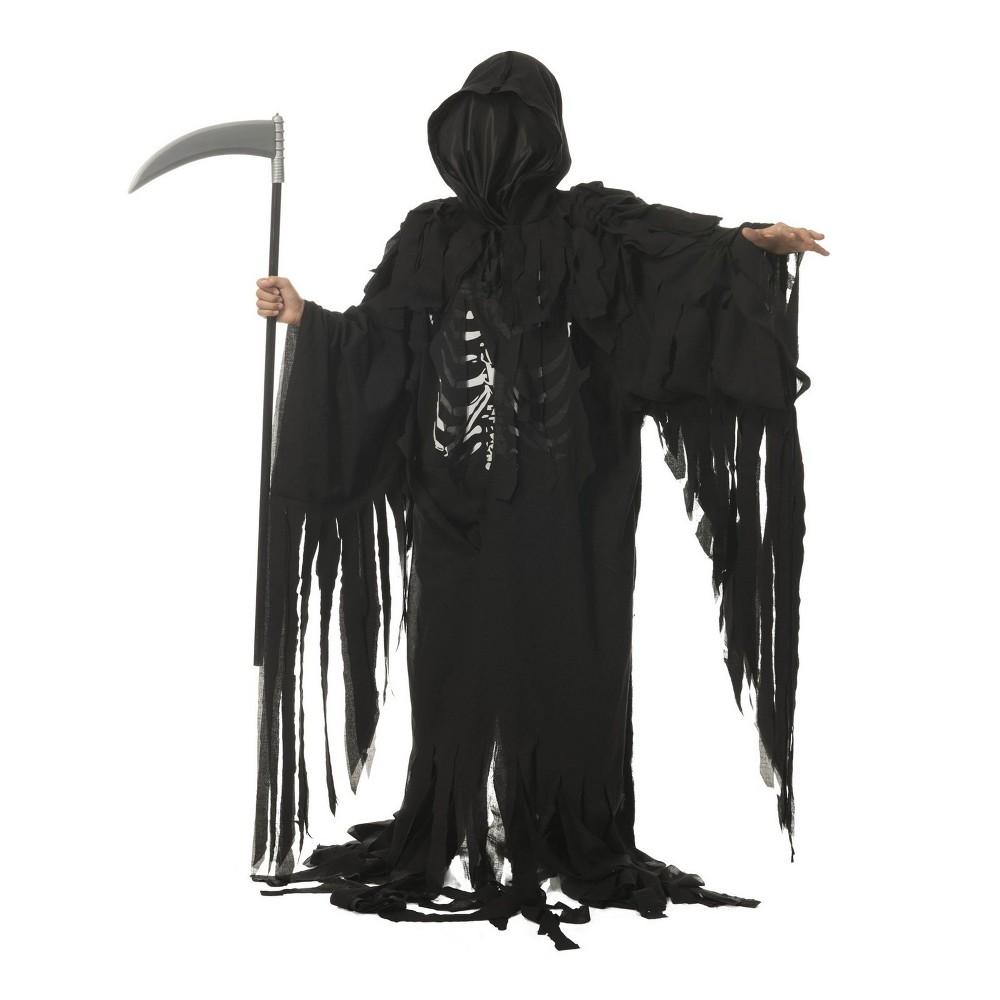Kids' Tattered Reaper Halloween Costume L, Boy's, Multicolored