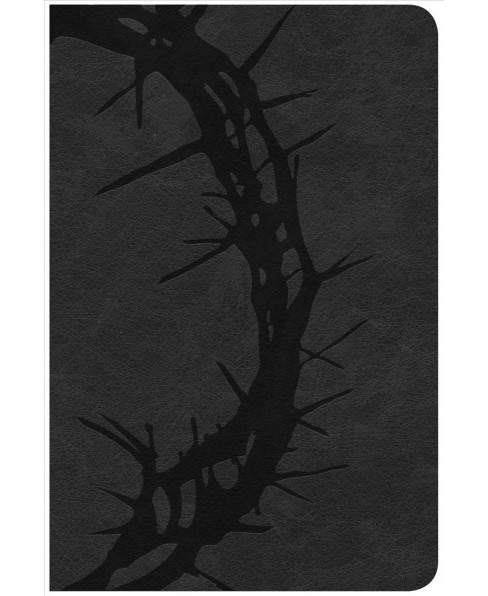 Holy Bible : Christian Standard Bible, Charcoal, Leathertouch, Ultrathin Reference (Paperback) - image 1 of 1