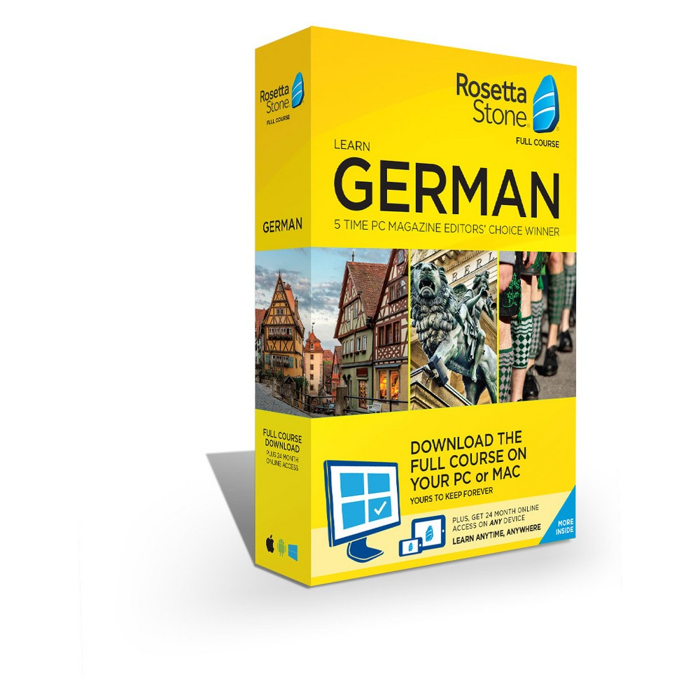 Rosetta German Stone Home/office Software Rosetta German Stone Home/office Software
