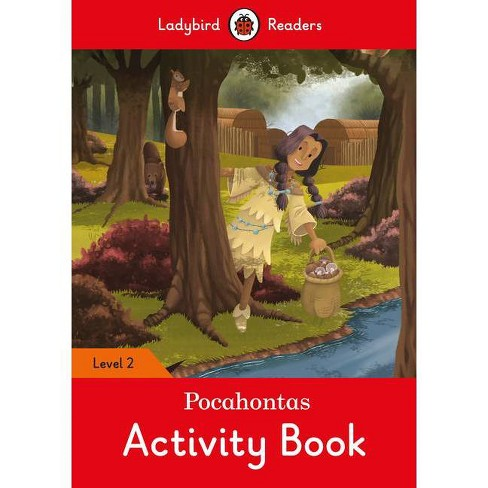 Pocahontas Activity Book - Ladybird Readers Level 2 - (Paperback) - image 1 of 1